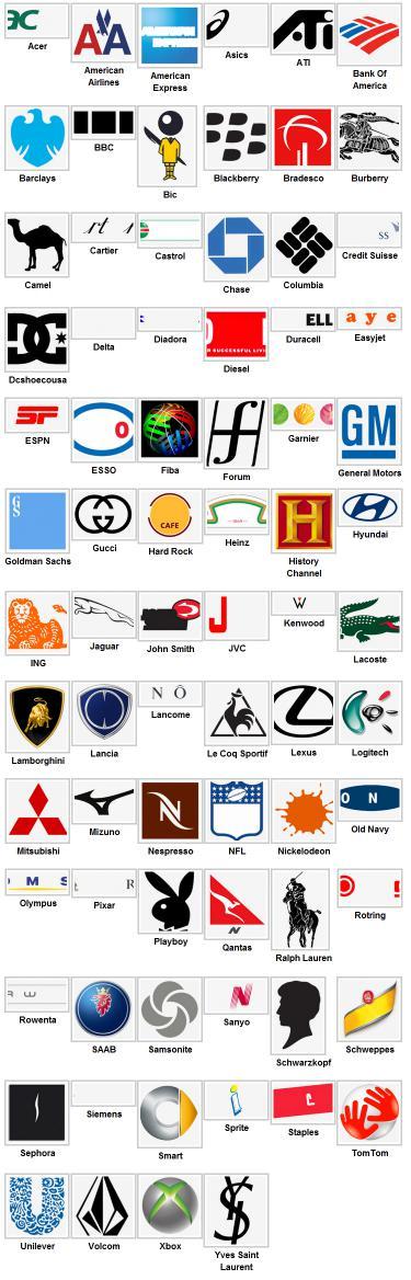 игра логотипы: