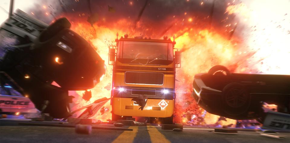 tgs hotwire glades truck hit 1080p