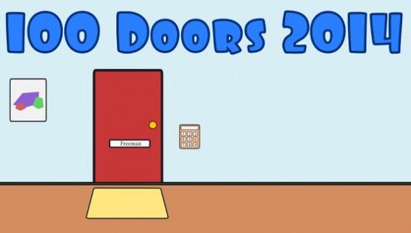 Как пройти 40 уровень в игре 100 doors 2014