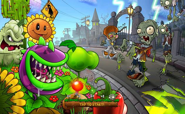 Зомби Против Растений Онлайн