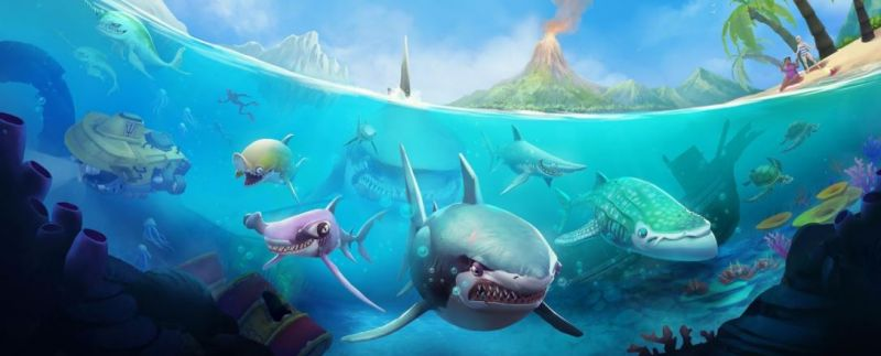 Обзор топовой Android и iOS игры Hungry Shark World